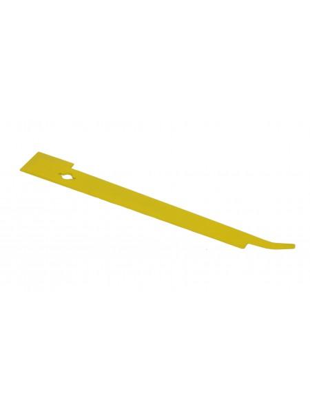 """Стамеска  Американская Гвоздодер, козья ножка """"280x35x3мм, желтое."""
